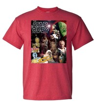 Star Wars Holiday Special T shirt retro 70s 80s Christmas graphic red tee image 2