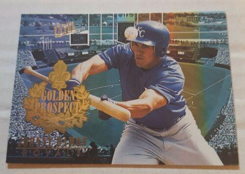 1996 Fleer Ultra Golden Prospect 4 Johnny Damon Kansas City Royals Baseball Card