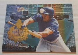 1996 Fleer Ultra Golden Prospect 4 Johnny Damon Kansas City Royals Baseb... - $1.00