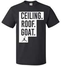 Ceiling Roof Goat Funny Basketball 2017 T-shirt - $8.90+