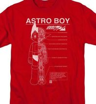 Astro Boy t-shirt Mechanical design Retro 80's TV cartoon graphic tee ABOY104 image 3