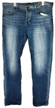 Hugo Boss 040 Taber Tapered Fit Button Up Men's Stretch Denim Blue Jeans 38/32 - $79.19