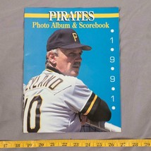 Vintage 1991 Pittsburgh Pirates Jim Leyland MLB Baseball Scorebook  tthc - $9.89