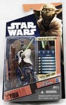 Star Wars 2010 Saga Legends Action Figure SL No. 13 Yoda 653569523390 - $19.79