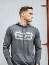 "Men's Hoodie ""Boujee Monster"" Charcoal Gray - $24.99"