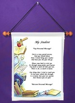 My Student - Personalized Wall Hanging (687-1) - $18.99