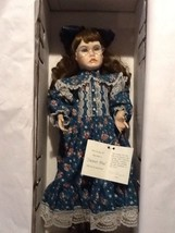 "Cottage Path Collection ""Sweet Pea"" Porcelain 23"" Doll  Artist Renee Stu... - $31.95"