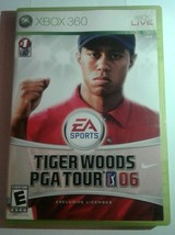 Tiger Woods PGA Tour 06 (Microsoft Xbox 360, 2006) - Japanese Version - $7.11