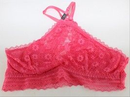 Victoria Secret Bralette Lace Padded Wire Free Bra Racerback Front - $17.82