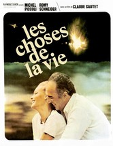 LES CHOSES DE LA VIE 1970 The Things of Life Michel Piccoli, Romy Schnei... - $18.50