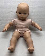 """Vintage 90s Pleasant Company Bitty Baby 15"""" Doll Blue Eyes - $25.24"""