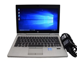 HP Elitebook 2570p Laptop i5-3210M 2.5GHz 4GB RAM 128GB SSD WebCam Win10... - $197.99