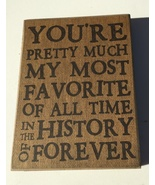 Primitive Wood Box 32566 You're pretty much my most favorite of all time... - $7.95