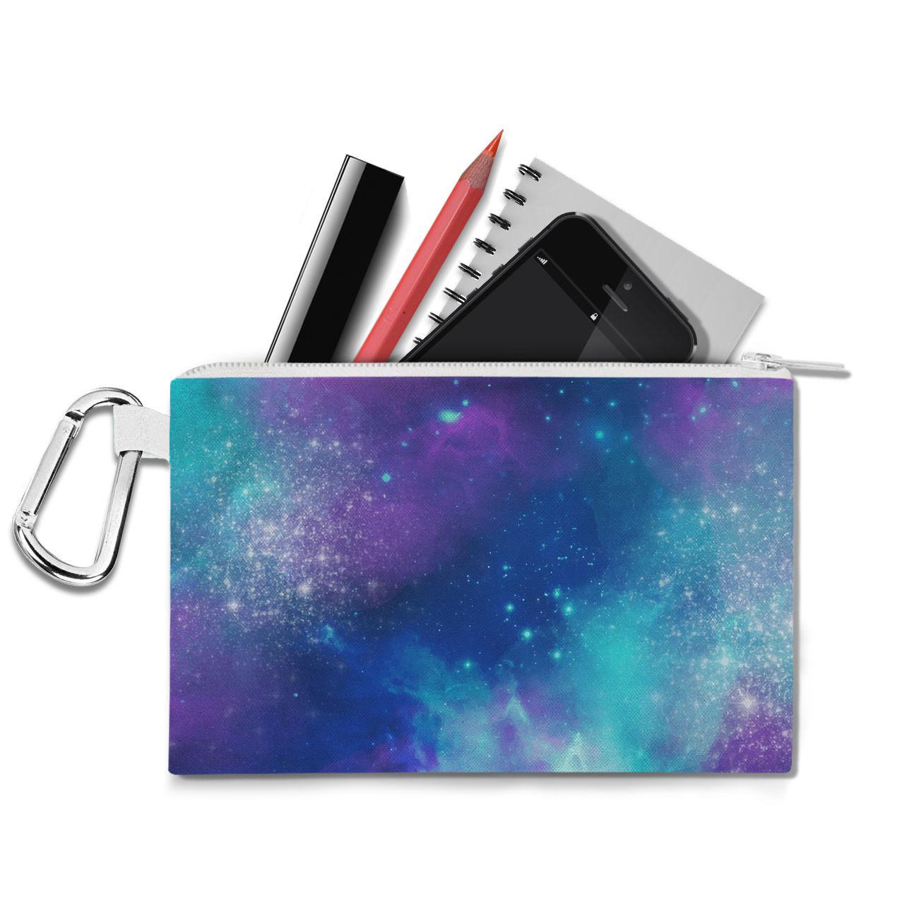 Beautiful Galaxy Canvas Zip Pouch
