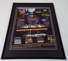 Magic the Gathering Online 2004 Framed 11x14 ORIGINAL Vintage Advertisement - $22.55