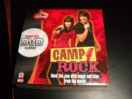 Disney Channel Camp Rock DVD Game Do You Rock the Jam? Mattel 2008 Seale... - $6.99