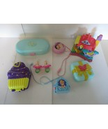 Lot Vintage Polly Pocket Compacts Miniatures Bluebird Ring Dolls - $29.70