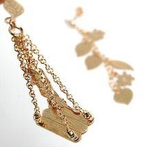 Drop Earrings 925 Silver, Leaves, Flowers, Girl on Swing, le Favole image 4