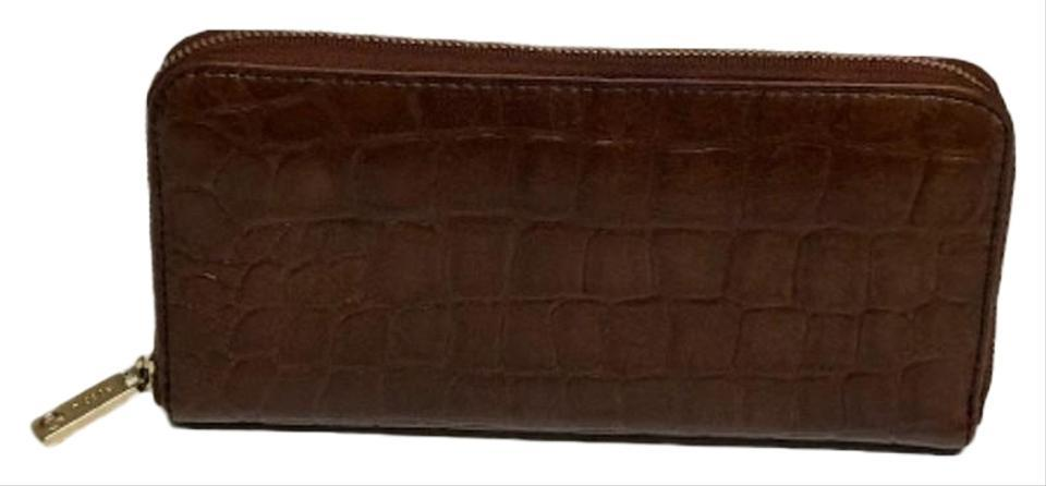 Fossil brown crocodile embossed style sl4731 wallet 0 2 960 960