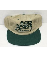 Vintage Rare CBS Sports Golf 1998 Masters Tournament Tan and Green Promo... - $122.45