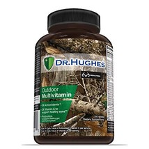 Realtree Daily Multivitamin by Dr Hughes | Antioxidant: Vitamin C 5X and Vitamin