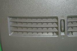 07-12 Nissan Versa Center Upper Dash Vent Bezel Trim Panel Tan/Brown image 3