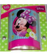 Disney Minnie Mouse LED Night Light Girls Room Bathroom Kitchen NEW  - $15.00