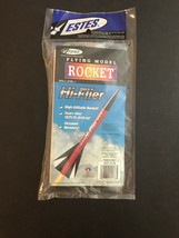 Estes Hi-Flier Mint Sealed NRFB Flying Model Rocket Nr Mint Bag - $14.85