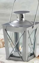 Kate Aspen Leuchtend Mini Laternen Teelicht Halter Silber - $13.10
