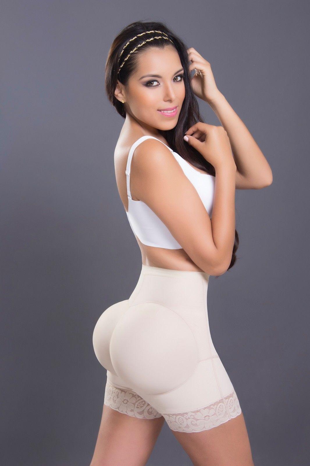 PANTY COLOMBIANO Butt Lifter Waist Cincher High Waist Colombian ORIGINAL 1012 for sale  USA