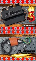 High Performance CDI Box + Ignition Coil for Yamaha Rhino 450 All Years Stage 3 - $259.95