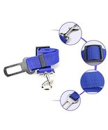 NACOCO Fashion Pet Dog Adjustable Car Automotive Seat Safety Belt (blue) - $29.70