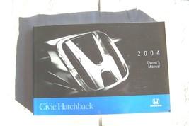 2004 honda civic hatchback owners manual new original - $14.84