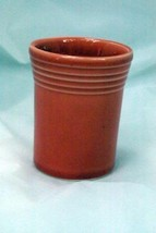 Homer Laughlin 1996 Fiesta Persimmon 6 oz. Tumbler 60th Anniversary 1936... - $11.33
