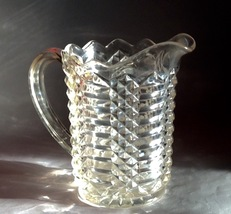 20th Century Clear Depression Glass Footed Pitcher - $99.99