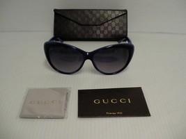 GUCCI New Sunglasses womens Cat Eye Blue Violet GG 3510S WOIDG authentic - $222.70