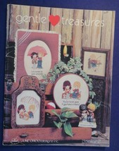 1983 GENTLE TREASURE Book 22 by JUNE GRIGG DESIGNS Cross Stitch Pattern - $7.16