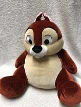 "The Disney Store Chip And Dale Squeeze Me Chip Plush Stuffed Animal  16""... - $25.73"