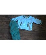 Faded Glory toddler boys 2 piece long sleeve sweater and green pant size... - $2.00