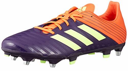 adidas Malice SG Rugby Boots, Orange (US 11)