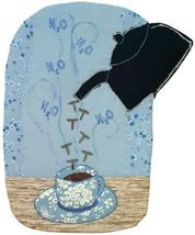 Pouring T: Quilted Art Wall Hanging - $275.00