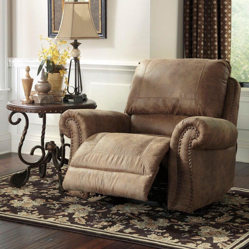TRADITIONAL RUSTIC MICROFIBER SOFA COUCH SET