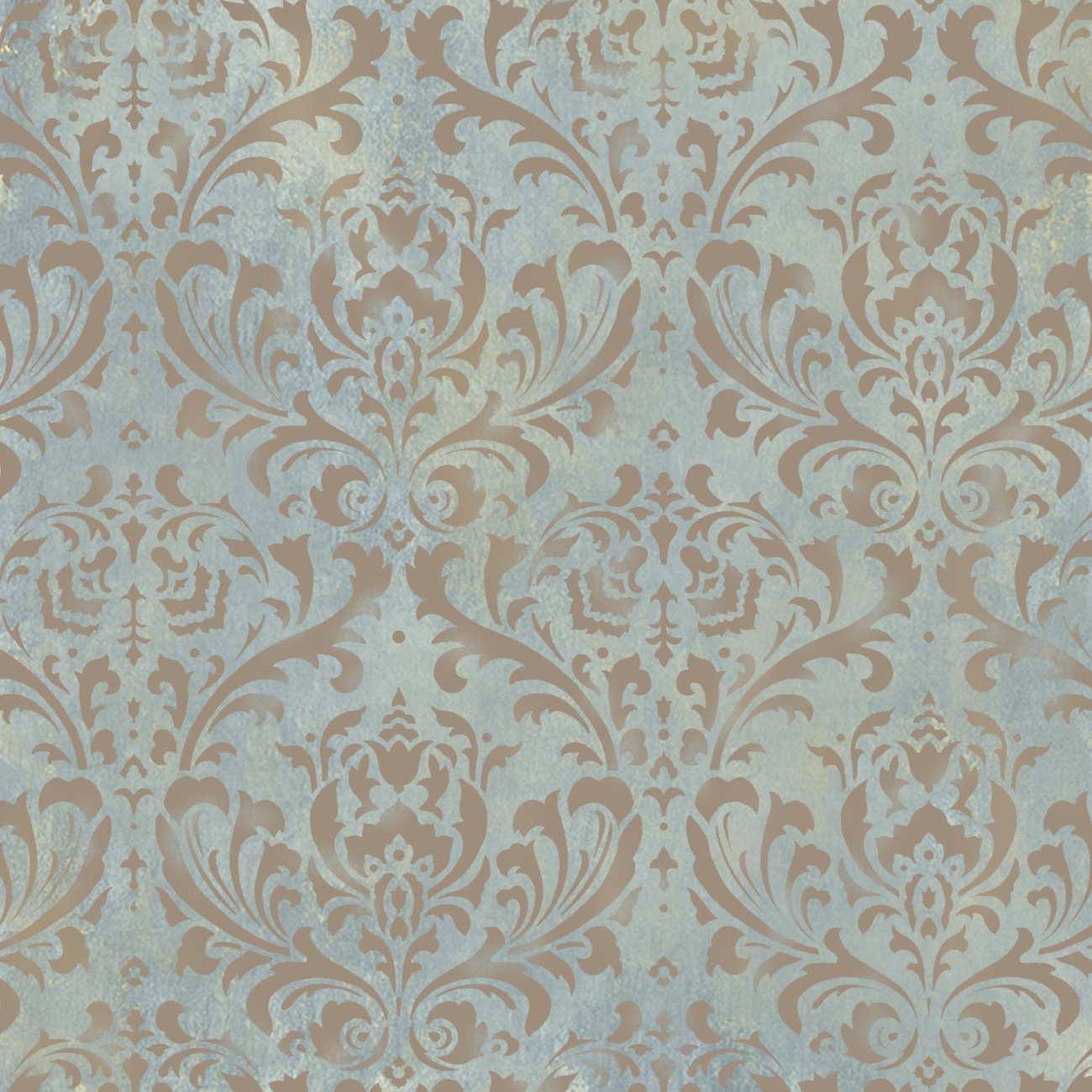 Damask stencil anna diy reusable wall stencils better for Paint templates for walls