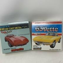 ERTL 1:25 Corvette Diecast Metal Plastic Models - Blueprint Replica SEALED - $77.39