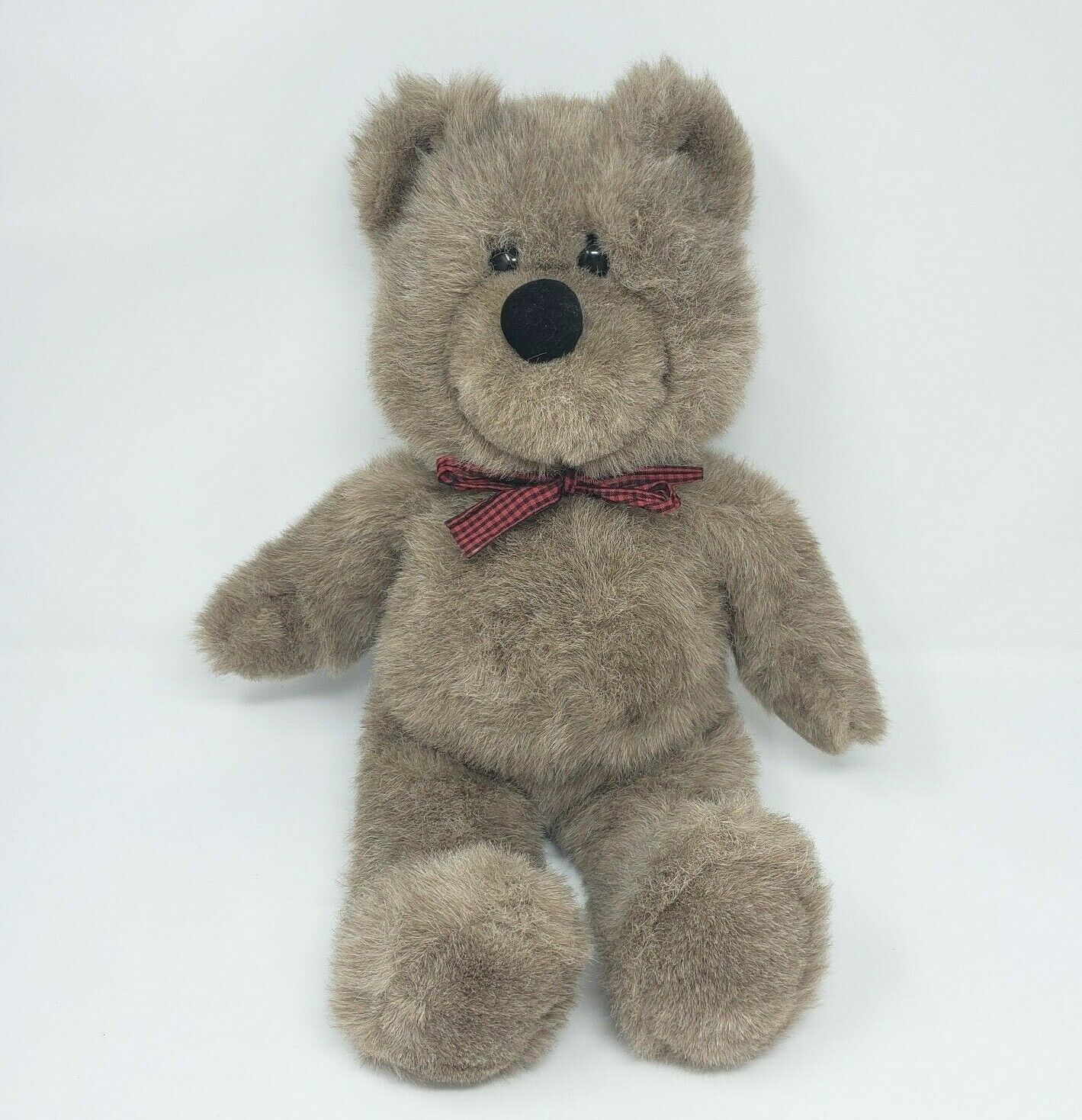"""20 """"vintage 1988 applause brown teddy bear bow toy animal smith - $54.82"""