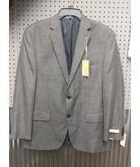 Michael Kors Herringbone Classic-Fit Men's Sport Coat Size 42R Black Whi... - $67.60