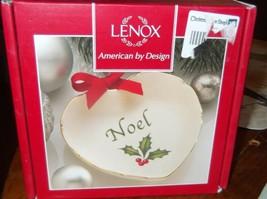 Lenox Sentiment Heart Noel Candy Dish - $14.95