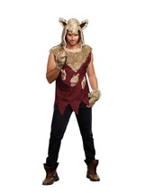 Dreamgirl Big Bad Wolf Fiaba Lupo Mannaro Halloween Adulto Uomo Costume ... - $51.96