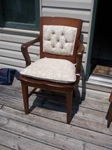 Quartersawn Oak Armchair/Desk Chair with Cushion  (AC115) - $350.00