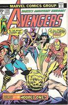 The Avengers Comic Book #133, Marvel Comics Group 1975 VERY FINE- - $14.98
